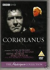Coriolanus - BBC Shakespeare Collection 1984 Alan Howard Brand New Sealed DVD