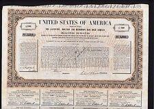New listing Galveston Houston and Henderson Railroad 1855 Uncancelled 10% $100 Bond stock