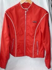 Ladies Harley Davidson Rain / Wind Lightweight Jacket SIZE L RED