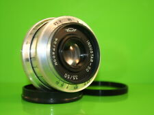 Soviet lens  50 mm f 3,5 Industar - 50 Fed,zorky, Leica  Mount: m39 + m42