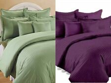 Fitted + Flat + 4 Pillow Covers 6 Piece Bedding Set 600 TC Egyptian Cotton