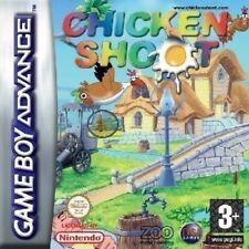 Nintendo GameBoy Advance pollo disparar 1 Cartucho De Juego