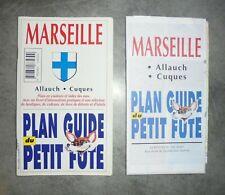 PLAN GUIDE PETIT FUTÉ MARSEILLE ALLAUCH CUQUES 9782862734309 Touristique