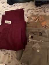 3x Next and Topman Chinos - 32 Inch - Brand New - 32""
