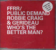 FFRR/Public demand-whos the better man promo cd single