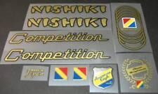 sku Nish-S101 Nishiki 1986 International Bicycle Decal Set Metallic Gold