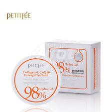 Petitfee Collagen & Co Q10 Hydrogel Eye Patch 60 sheet +Free Sample