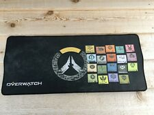 """New Overwatch Large SPEED Gaming Mouse Pad PC Laptop Keyboard 27.5"""" x 12"""""""