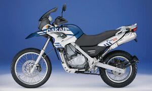 BMW GS650 DAKAR 2000- FRONT STAINLESS BRAKE LINE KIT DOT TUV  GS 650F