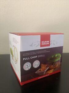 Kuhn Rikon Pull Chop Chopper Manual Food Processor w Cord Mechanism Green 2 cup