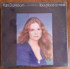 Patti Dahlstrom - Your Place or Mine- NEW LP Vinyl Record SEALED