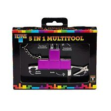 Tetris 5 in 1 Multi-Tool Adult Novelty Gift Swiss Army Knife Tool Paladone NEW