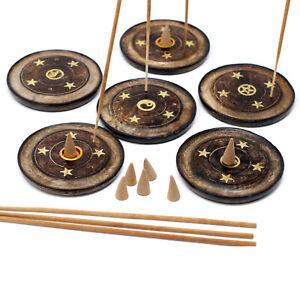 Ash Catcher Incense Cone Incense Sticks or Joss Stick Holders 15+ Designs