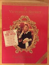 Victoria's Secret Catalog Christmas 1991