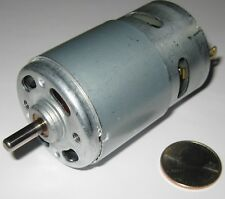 100 Watt Electric 12 VDC Motor w/ Fan - 15,000 RPM - 775 Frame Size Robot Hi RPM