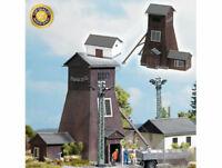 Busch 1476 Förderturm Schlema zum Bergwerk echt Holz H0 Bausatz Neu