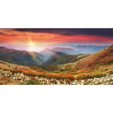 10x5ft Vinyl Sunrise Mountains Photography Background Backdrop Studio Photo Prop