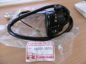 KAWASAKI GENUINE NOS LEFT SWITCH 46091-1005 8 WIRE Z200 Z250 MAY FIT OTHERS