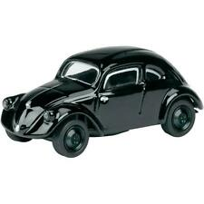 Voitures, camions et fourgons miniatures noirs VW