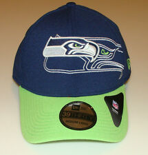 New Era Hat Cap NFL Football Seattle Seahawks Outliner Classic 39THIRTY M/L