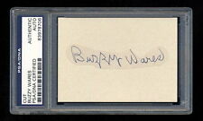 BUZZY WARES SIGNED MINT CUT PSA/DNA SLABBED AUTOGRAPHED CARDINALS GAS HOUSE GANG