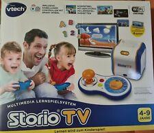 Vtech Storio TV - Die interaktive Lernspiel - Konsole + OVP  × Top ×