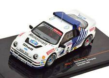 1 43 Ixo Ford RS200 #2 RAC Rally Blomquist/Berglund 1986