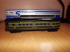 Xa323: K-Line O Gauge Reading Company Observation Car - 2000 - Exc/Boxed