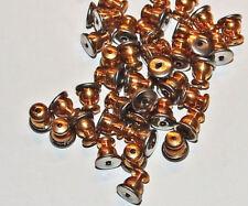 Earring Pierce Post Stud Back Adjust Locks Silver /Gold Findings DIY Jewelry 12p