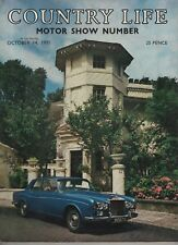 COUNTRY LIFE (14 October 1971) MOTOR SHOW - LIDDESDALE - ROYAL AUTOMOBILE CLUB
