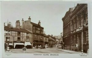 Thornton Square, Brighouse. Lilywhite's BGS 4. Real Photo. Postcard.