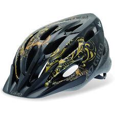Giro Skyla Bicycle Helmet Black/Gold Paisley BAMBINA/DONNA
