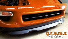 Toyota Supra en fibre de verre Active spoiler lèvre OEM Style Brillant Pare-chocs avant Lip V6