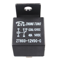 Car Automotive Truck Motor 12V 12 Volt DC 40A AMP SPDT Relay 5Pin Sales