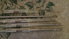 "Lot of 4 Ikea Kvadrant Aluminum 43.25"" (110 cm) Draw Rod for Curtains 100.793.66"