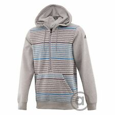 NEW MEN'S ADIDAS ORIGINALS SWEAT YARD HALF ZIP HOODIE ~SIZE SMALL ~ #M67475
