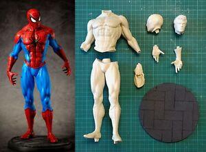 Spiderman Uomo ragno - Statua 30 cm - 1/6 - Unpainted - Stampa 3D