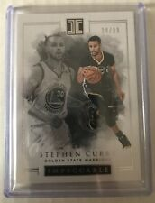 2016-17 Panini Impeccable #1 Stephen Curry /99