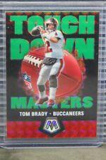 2020 Mosaic Tom Brady Green Prizm Touchdown Masters #TM2 Buccaneers (A) E484