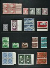 IRELAND, a collection of 29 stamps for sorting, UM condition.