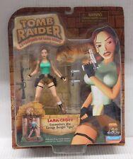 Playmates Tomb Raider Adventures Of Lara Croft LARA CROFT - Action Figure NIP