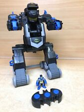 Imaginext DC R/C Remote Control Transforming Batbot Batman Robot & Figure