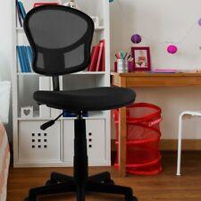 Siège tournant chaise de bureau travail classique noir moderne comfortable privo
