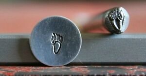 SUPPLY GUY 5mm Bear Paw Metal Punch Design Stamp SGA-13, Made in the USA