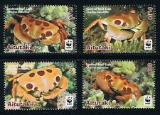 Aitutaki WWF Spotted Reef Crab Stamp Set