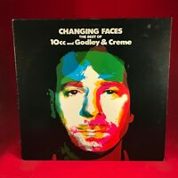 GODLEY CREME Changing Faces The Best Of Vinyl LP EXCELLENT CONDITION Cry 10cc #