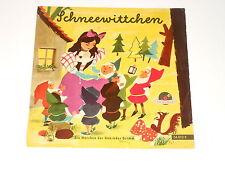 """Schneewittchen - Hörspiel - Schellack 78 RPM (10"""") - Polydor N 78 54012"""