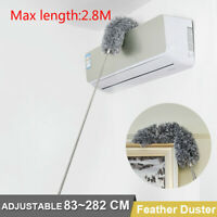 Extendable Feather Duster Extra Long Telescopic Dusters Cobweb Duster Brush NEW