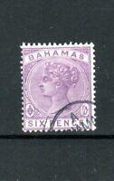 Bahamas 1890 6d  FU CDS
