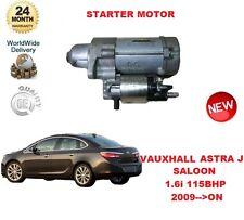 Per Vauxhall Astra J 1.6 i Saloon 115bhp 2009 -- > SUL MOTORE DI AVVIAMENTO